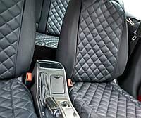 Накидки на сиденья автомобиля (передние, AVторитет, экокожа)