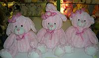 """Мягкая игрушка 1014-7 """"Зверь"""" 27 см, (собачка, кролик, медвежонок)"""