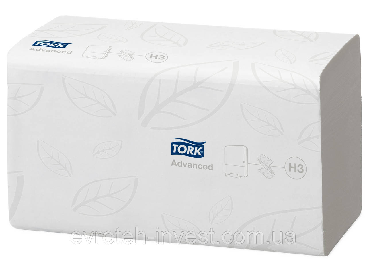 Tork листовые полотенца сложения Singlefold категория качества Advanced