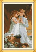 """Набор для вышивки крестом  """"Вечерняя молитва """""""