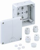 Abox 060 - L Розподільча коробка 110*110*67 IP65 sp80690701