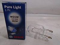 Лампа бесцокольная одноконтактная 12В 21Вт Bosch