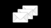 Нанесение логотипа на конверт