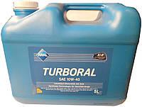 Автомобильное моторное полусинтетическое масло Aral Turboral 10W40 5L