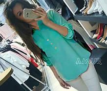 Блуза карманчики 19/105, фото 3