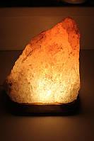 Соляная лампа  Скала  3-4 кг цветная лампа. Купи 2-ве и получи третью в подарок.