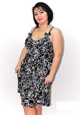 """Шикарная ночная рубашка пеньюар Вензеля, хорошие батальные размеры 48 -56 для пышной красоты. Цвет черный. - ИНТЕРНЕТ-МАГАЗИН """"GALASHOP"""" в Одессе"""