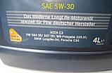 Автомобильное моторное синтетическое масло Aral SuperTronic Long Life III 5W30 4L, фото 2