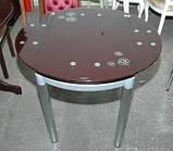 Стол обеденный ТВ 66-2 стеклянный раскладной, фото 2