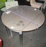 Стол обеденный ТВ 66-2 стеклянный раскладной, фото 3