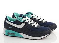 Спортивная женская обувь, кроссовки на каждый день для девочек синего цвета