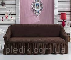 Чехол на диван Arya Burumcuk коричневый
