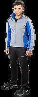 Спортивный костюм F50 -  K-616H светло-серый электрик