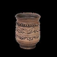 Чаша глиняная Шляхтянская AF0923 Покутская керамика