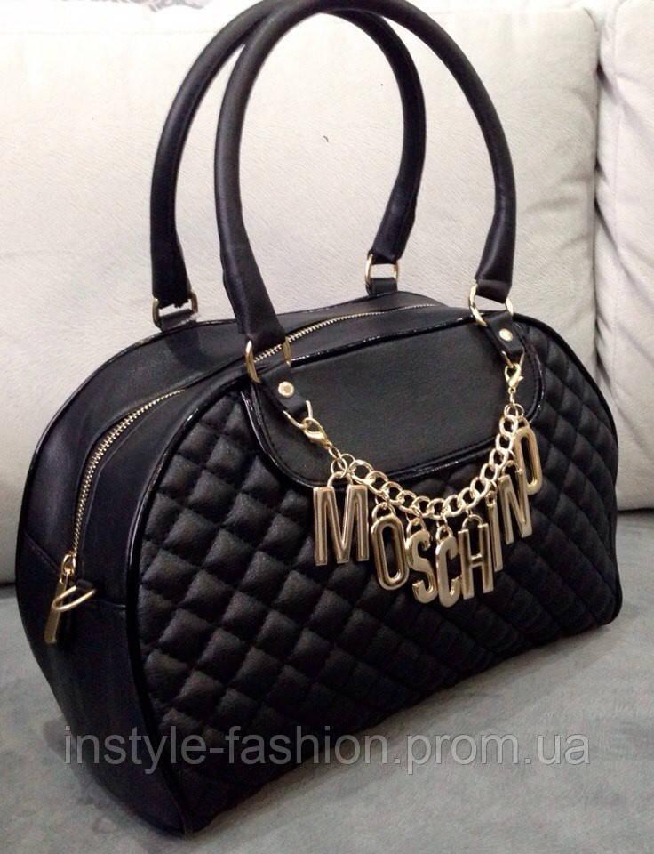e8071deddb7f Сумка Moschino черная - Сумки брендовые, кошельки, очки, женская одежда  InStyle в Одессе