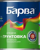 Барва Грунт ГФ-021 Красно-Коричневый 0,9 кг