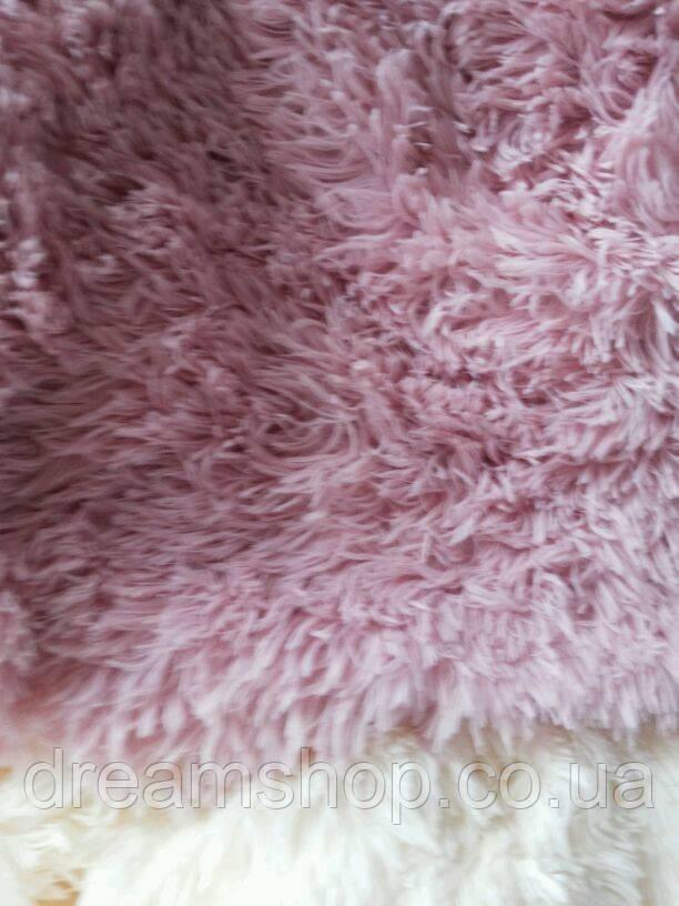 Покрывало двуспальное меховое с длинным ворсом розовое - Интернет-магазин Dream в Тернопольской области
