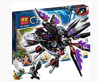 Конструктор Bela 10060 аналог LEGO Чима: 70012 Bela Похититель Чи Ворона Разара Chima 417 деталей