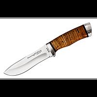 Нож охотничий (с рукоятью из бересты), фото 1