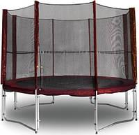 Защитная сетка для батута 304 см Kidigo Maroon
