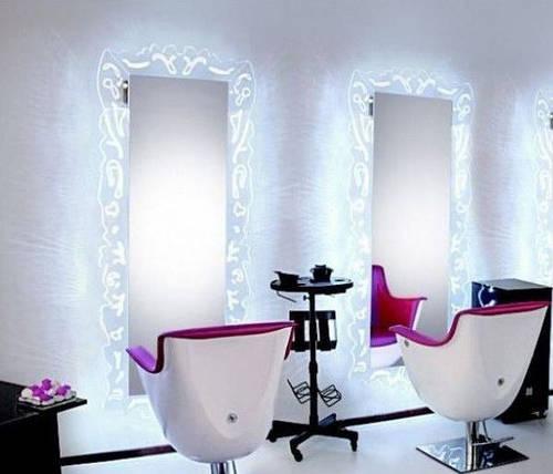 Рабочее место парикмахера  (Парикмахерское зеркало)
