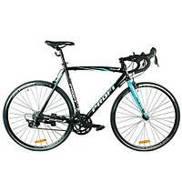 Шоссейный велосипед 28д. G54CITY A700C-2 , черно-голубой