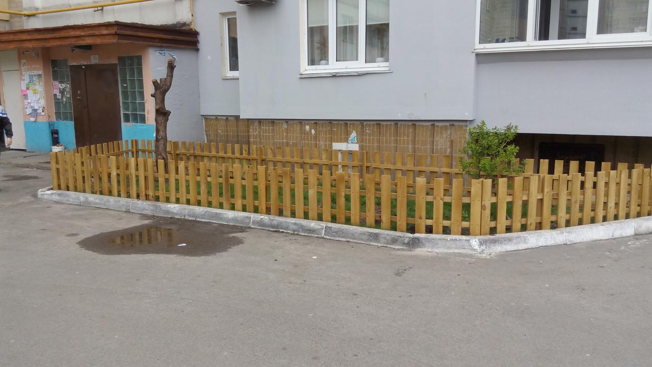 Секция забор декоративный штакетник №12: продажа, цена в Киеве ...