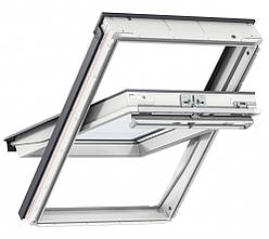 """Мансардное окно VeluxМансардное окно Velux GLP 0073B """"Влагос GLP 0073B """"Влагостойкое"""" белое пластиковое 66X118"""