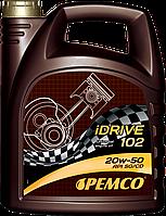 Минеральное моторное масло PEMCO iDRIVE 102 SAE 20W-50, 4L
