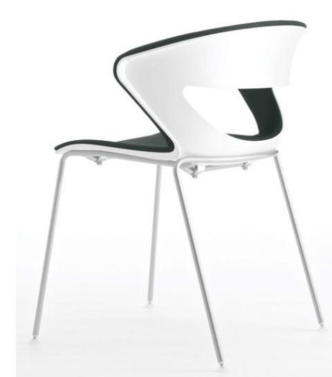Кресло офисное мягкое сиденье Kicca Италия