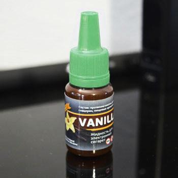 """Жидкость для электронной сигареты """"Ваниль"""" 0мг/мл"""