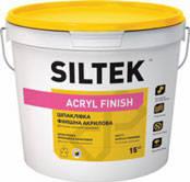 Siltek Акриловая финишная шпаклевка Acryl Finish  (15кг)