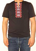Мужская футболка-вышиванка с оригинальным рисунком