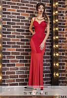 Женское длинное платье ЮИ5092