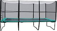 Батут 457х305 см с сеткой и лестницей Kidigo