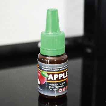 """Жидкость для электронной сигареты """"Яблоко"""" 0мг/мл"""