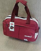 Дорожная,спортивная сумка качественная, фирмы Dolcezza.красная.