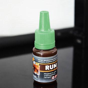 """Жидкость для электронной сигареты """"Ром"""" 0мг/мл"""