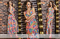 Женское длинное платье ЮИ5171, фото 1