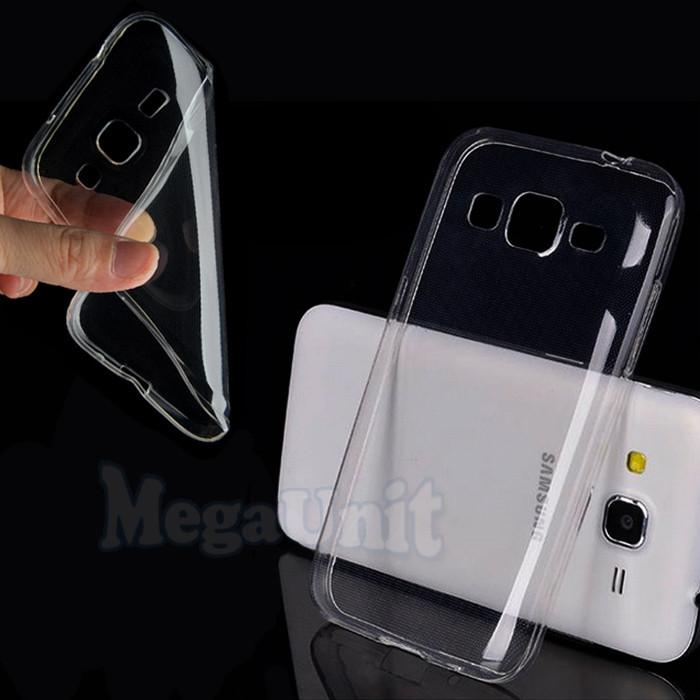 Прозрачный силиконовый чехол для Samsung G360/G361 Galaxy Core Prime