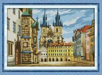 """Набор для вышивки крестом  """"Город Краков"""""""