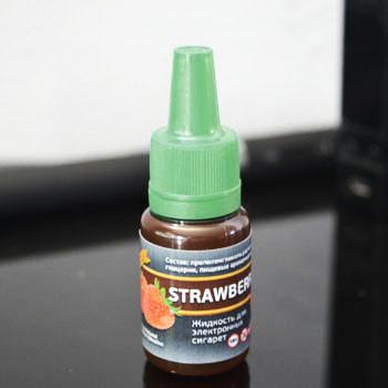 """Жидкость для электронной сигареты """"Клубника"""" 0мг/мл"""