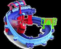 Chuggington StackTrack Игровой набор Станция техосмотра с Вилсоном