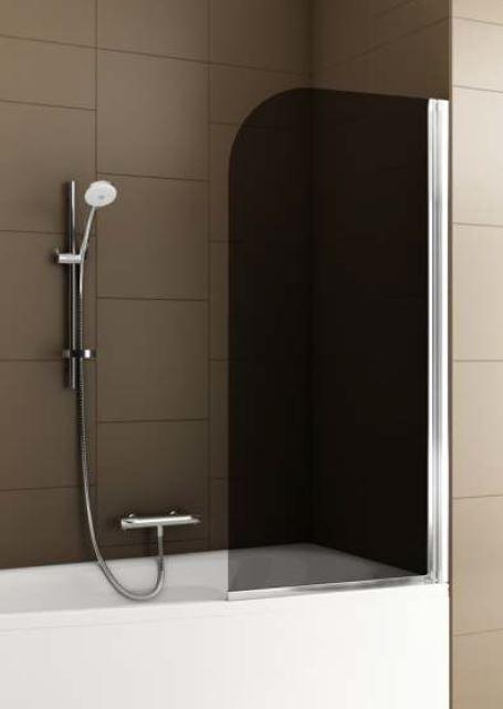 Шторка для ванн Aquaform BAOK 67х140 профиль хром 170-06980
