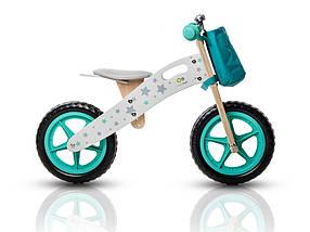 Велобег, беговел KinderKraft RUNNER +AKCE деревянный, 2 цвета, фото 3