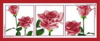 """Набор для вышивки крестом  """"Триптих Воспоминания в розах"""""""