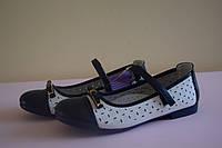 Детские нарядные туфли на девочек Том.М 37 размер. Детская обувь весна-осень, нарядная обувь