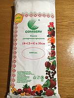 Пакет фасовочный полиэтиленовый Комсерв 9, Премиум, колличество 1000 штук, крепкий, прозрачный.