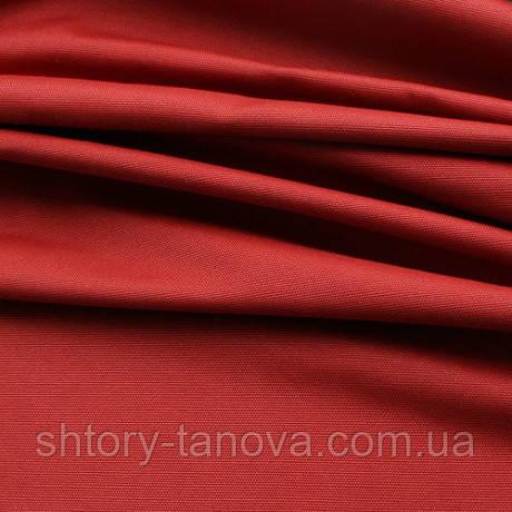 Ткань для штор хлопковая ТЕРРАКОТОВО-КРАСНЫЙ