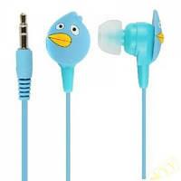 Навушники Angry Birds In-Ear Сині